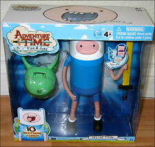 "Adventure Time Finn 10"" Deluxe Toy Figure with Changing Face CARTOON NETWORK New"