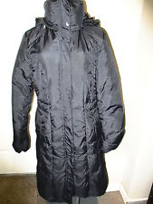 Cole Haan Down Coat S Black New With Defects