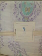 NEW POTTERY BARN KIDS ELYSE  DUVET COVER Twin Lavender/Aqua