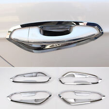 Fit For 13-17 Ford Fusion Mondeo Chrome Door Handle Bowl Cover Cup Trim Garnish