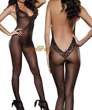 Women Hot Sexy Lingerie Costumes Body Stocking Lingerie Body Suit Baby Doll USA