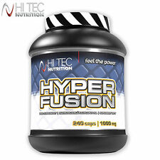 HYPERFUSION 240 CAPS. WORLD FIRST 10 CREATINE BLEND ULTRA STRONG ANABOLIC STACK