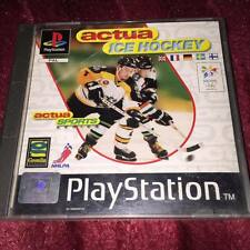 actua ice hockey  ps1 Playstation Psone