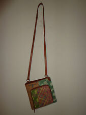 FOSSIL leather CROSSBODY MESSENGER BAG - FOSSIL