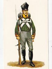 Interregnum Card No.31 Rifle Volunteer 3rd Silesian Infantry Regiment 1814