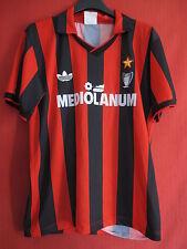 Maillot Adidas Milan Ac Vintage Mediolanum Oldschool Ancien Calcio - S