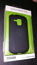 NEW CASE-MATE BLACK TOUGH CASE SAMSUNG GALAXY S3 SIII S III S 3 MINI