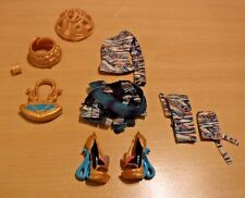 Monster High Nefera De Nile First Wave Doll Outfit Replacement Lot Top Skirt