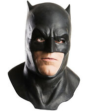 Adult Dawn Of Justice Batman V Superman Latex Cowl Full Over Head Foam Mask