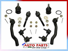 FITS HONDA ACCORD 2 BALL JOINTS + 4 TIE RODS+ SWAY BAR LINK ACURA CL TL 99-03
