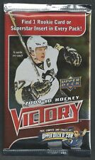 2009-10 UD UPPER DECK VICTORY WAX PACK HOCKEY CARDS - NRMT