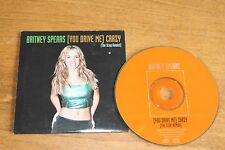 Britney Spears / Europe CD / You drive me Crazy 2 track card sleeve