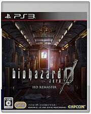 Used PS3 Resident Evil Bio Hazard 0 HD Remaster Import Japan、