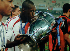 Clarence SEEDORF Signed Autograph 16x12 Champions League Winner Photo AFTAL COA
