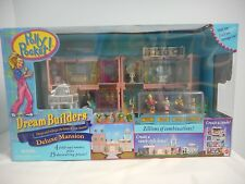 RARE SEALED NEW 1999 Vintage Polly Pocket Dream Builders Deluxe Mansion Bluebird