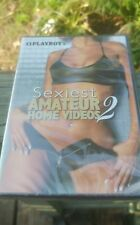 Playboy Sexiest Amatuer Home Videos 2 Pornography Nude DVD RARE NEW Sealed