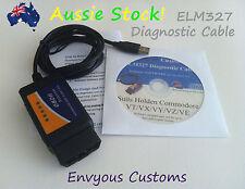 HOLDEN COMMODORE DIAGNOSTIC CABLE VT VX VY VZ VE LS1 V8 LIVE SCAN ELM327 PCM ECU