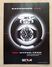 B063-Advertising Pubblicità-2000 - EXPANDER 130 SECTOR - OROLOGI