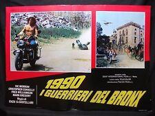 FOTOBUSTA CINEMA - I GUERRIERI DEL BRONX - VIC MORROW - 1982 - AZIONE - 02