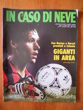 In Caso di Neve n°98 1990 MARCO VAN BASTEN Milan  [D24]