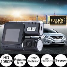Rotatio Lens Camcorder Auto Car DVR Camera HD 1080P Dash Cam Driving Recorder AD