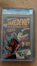 DAREDEVIL # 7 - CGC GRADED 7.5 CENTS - ONE OF THE TOP 250 COPIES IN THE WORLD