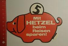 ADESIVI/Sticker: con Hetzel quando si viaggia risparmiare (280816170)