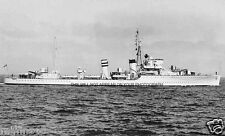 ROYAL NAVY H CLASS DESTROYER HMS HARDY - CAPT WARBURTON-LEE VC - NARVIK