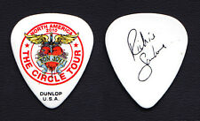 Bon Jovi Richie Sambora Signature White Guitar Pick - 2010 Circle Tour