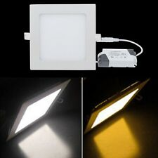6W Bright CREE LED Recessed Ceiling Lamp Panel Down Light Pure/Warm White Driver