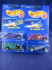 Hot Wheels 1995 - Classic Car Lot – Group of 4 Cars - Mattel – MIMP Collection