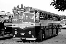 Aldershot & District 268 MOR599 AEC MU3RV 6x4 Bus Photo Ref P120
