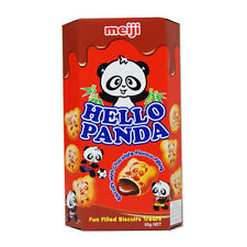 HELLO PANDA CHOCOLATE FLAVOUR FILLING BISCUITS - 50G