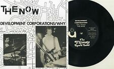 "The Now (UK) - Development Corporations 7"" Peterborough UK Punk Bloodstains KBD"