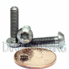 TITANIUM M4 x 16mm - BUTTON HEAD Cap Screw BHCS - T25 TORX drive / Star / 6lobe