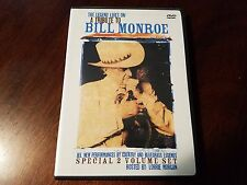 The Legend Lives On A Tribute to Bill Monroe DVD McCoury O'brien Ralph Stanley