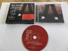 MICHAEL JACKSON - Off The Wall (CD 2001) SPECIAL EDITION