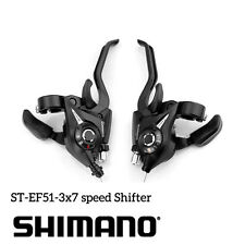 Shimano ST-EF51-7 3x7-Speed Brake Shifters Lever Trigger L+R set with Cable MTB