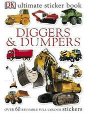 Diggers and Dumpers Ultimate Sticker Book,