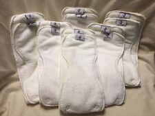 Rumparooz Cloth Diaper 6r Soakers, 6 Double Sets (12 Inserts) NEW
