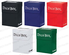 Ultra Pro Deck Box Combo Bulk Lot Black / Dark Blue / Red / White / Dark Green