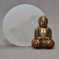BUDDHA - SILICONE MOULD RESIN FONDANT POLYMER CLAY FIMO PLASTER WAX MOLD