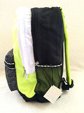 VICTORIA SECRET PINK CAMPUS BACKPACK / TRAVEL TOTE /GYM BAG LIME / GRAY GIRLS