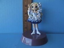 "Pita-Ten Super Cute Sasha 4""in Mini Figure all Dolled Up in Dress & White Boots"