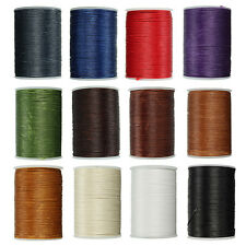 Waxed Thread 0.8mm 78m Polyester Cord Sewing Stitching Leather Craft Bracelet