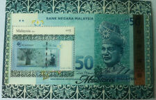Malaysia 1st banknote series stamp, MNH !