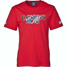 Official England Rugby World Cup 2015 Script Cotton T-Shirt by Canterbury S BNWT