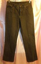 ETRO Milano Boot Cut Jeans SIZE 28 Gray Charcoal Color Made in Italy NWOT