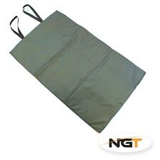 NUOVO NGT pesca carpa VERDE unhooking MAT. 100 cm x 60 cm NGT quickfish Nuovo Di Zecca **