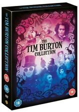The Tim Burton Collection DVD Box Set NEW